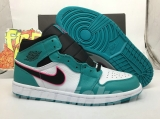 "(Sale)Super Max Perfect Air Jordan 1 ""South Beach"" Men And Women Shoes(no worry!good quality) -GCZX"