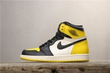 "(Sale)Super Max Perfect Air Jordan 1 ""Yellow Toe"" Men And Women Shoes(no worry!good quality) -GCZX"
