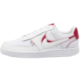 2020.03 Nike Super Max Perfect Air Force 1 Court Vision LO PRM White Noble Red  Women Shoes (98%Authentic)-LY(12)