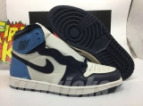 "(better quality)Super Max Perfect Air Jordan 1 ""Obsidian"" Men And Women Shoes(no worry!good quality,95%Authentic) -GET"