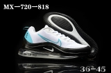 2020.05 Nike Air Max 720 AAA Men And Women Shoes -BBW (81)