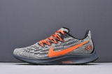 2020.07 Super Max Perfect Nike Air Zoom Pegasus 36 Grey Orange Men And Women Shoes (98%Authentic) -LY (34)
