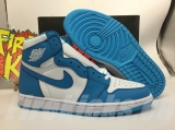 "2020.06 Normal Authentic quality and Low price Air Jordan 1 High ""UNC""Men And GS Shoes - LJR"