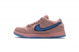 "2020.9 Grateful Dead x Perfect Nike Dunk Low Pro QS"" Pink  Bear"" Men And Women Shoes-LY (47)"