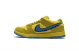 "2020.9 Grateful Dead x Perfect Nike Dunk Low Pro QS"" Yellow Bear"" Men And Women Shoes-LY (48)"