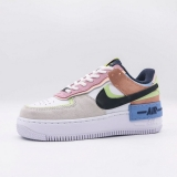 2020.10 Super Max Perfect Nike Air Force 1 Shadow Women Shoes (98%Authentic)-JB (90)