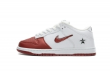 2020.10 Supereme x Perfect Nike SB Dunk Low White Red Men And Women Shoes -LY (58)