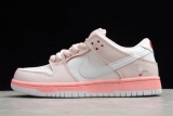 """2020.10 Super Max Perfect Nike SB Dunk Low PRO OG QS """"Pink Pigeon"""" Men And Women Shoes(98%Authentic) -JB (19)"""