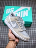 """2020.10 Super Max Perfect Nike SB Dunk Low """"White Wolf Grey"""" Men And Women Shoes(98%Authentic) -JB (22)"""