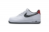 """2020.10 Super Max Perfect Nike Air Force 1 Low '07 LV8 """"Brushstroke Swoosh"""" Men  Shoes (98%Authentic)-LY (105)"""