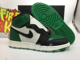 "(better quality)Super Max Perfect Air Jordan 1""Pine Green""Men And Women Shoes(no worry!good quality,95%Authentic) -GET"