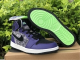 "2020.11 Authentic Air Jordan 1 Zoom Air CMFT ""Bayou Boys""-ZL"