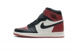 "(better quality)Super Max Perfect Air Jordan 1""Bred Toe""Men And Women Shoes(no worry!good quality,95%Authentic) -GET"