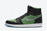 "2020.11 Normal Authentic quality and Low price Air Jordan 1 High ""Rage Green"" Men And GS Shoes - LJR"
