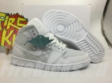 "2020.12 Normal Authentic quality and Low price Air Jordan 1 Mid"" Quilted"" Men And GS Shoes - LJR"