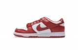 "2021.4 Normal Authentic quality Nike Dunk Low "" University Red"" Men And Women Shoes -XGC (29)"