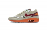 "2021.4 Super Max Perfect CLOT x Nike Air Max 1 ""Kiss of Dead"" Men And Women Shoes(98%Authentic)-LY(1)"