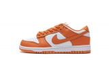 "2021.4 Normal Authentic quality Nike SB Dunk Low SP ""Orange Blaze ""Men And Women Shoes -XGC (30)"