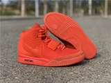 "2021.5 Authentic Nike Air Yeezy 2 ""Red""Men Shoes-ZL"
