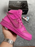 2021.5 Ambush x Authentic Nike SB Dunk  High Cosmic Fuchsia Women Shoes -LY (11)