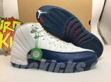 "2021.4 Authentic Air Jordan 12 ""French Blue""-ZL"