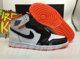 "2021.5 Normal Authentic quality and Low price Air Jordan 1 High ""Electro Orange"" Men And GS Shoes- LJR"