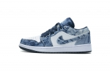 "2021.5 (better quality)Super Max Perfect Air Jordan 1 ""Washed Denim""Men And Women Shoes(no worry!good quality,95%Authentic) -LJR (25)"