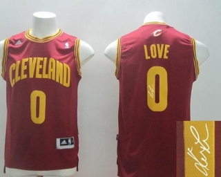 New Revolution 30 Autographed Cleveland Cavaliers #0 Kevin Love