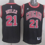 Revolution 30 Chicago Bulls #21 Jimmy Butler Black Stitched NBA