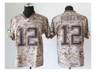 NEW jerseys green bay packers #12 aaron rodgers camo(2013 new ...