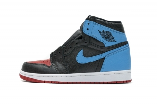 """2021.4 Authentic Air Jordan 1 High OG""""UNC To Chicago""""Women Shoes-LY"""